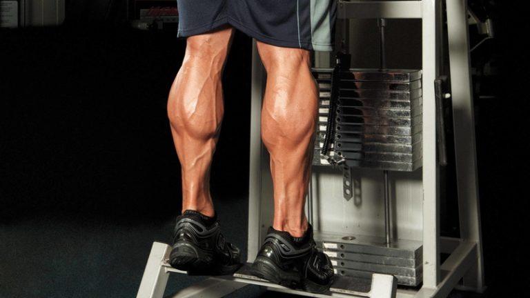 Мышца икры похудеть